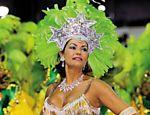 Mesmo grávida, foi madrinha da bateria da Imperatriz no Carnaval de 1999