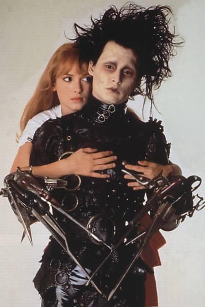 Johnny Depp por Tim Burton
