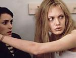 Com Winona Ryder em cena do filme