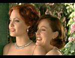 Com Gillian Anderson em cena do filme