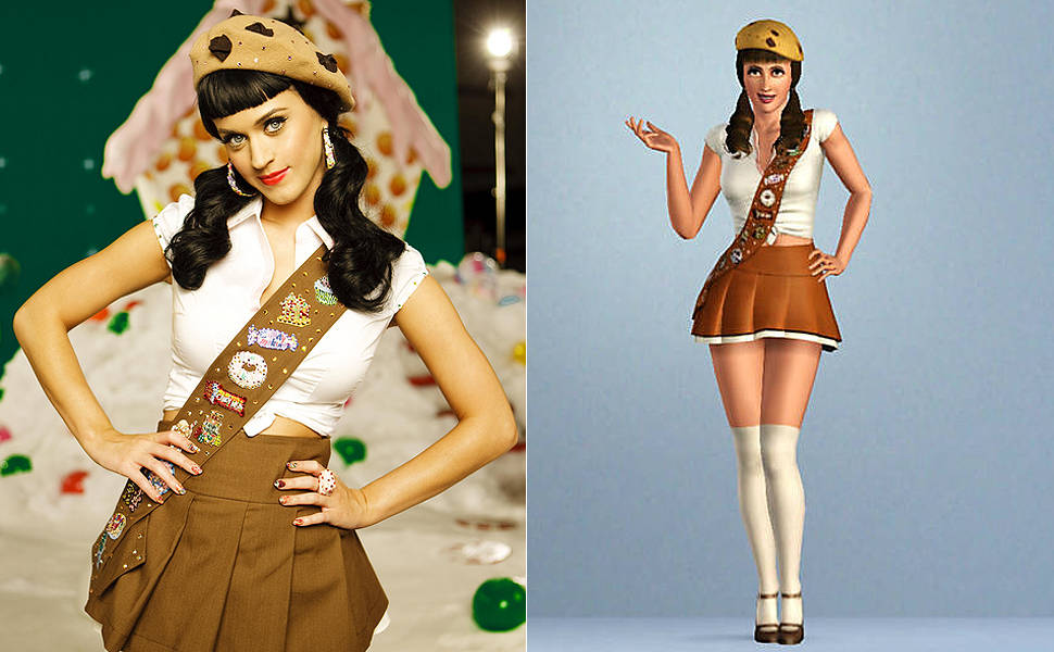 Katy Perry em The Sims 3
