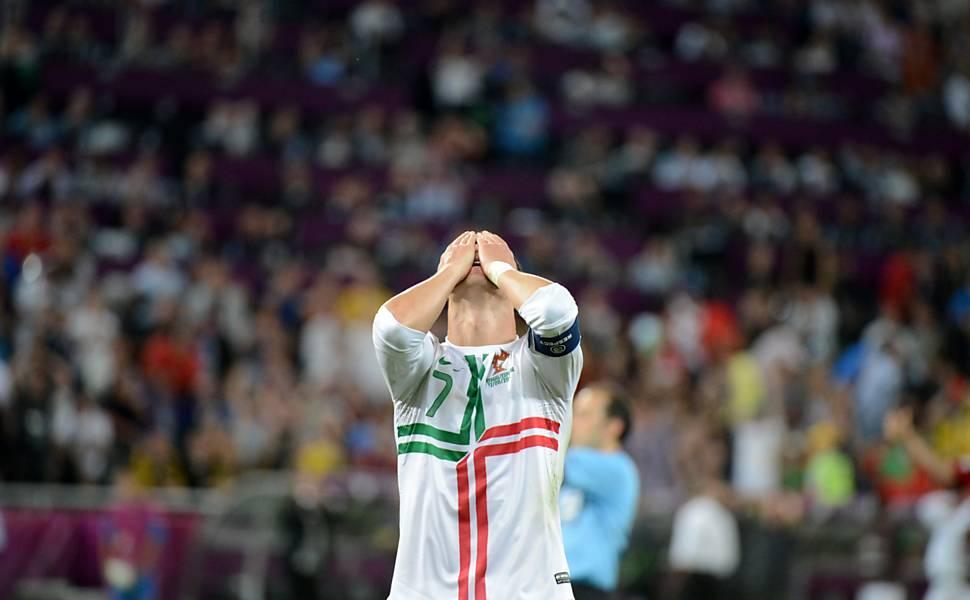 Portugal x Espanha - semifinal da Eurocopa