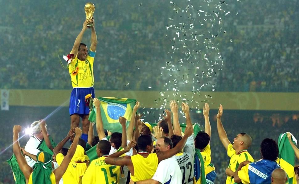 Brasil x Alemanha, final da Copa do Mundo de 2002