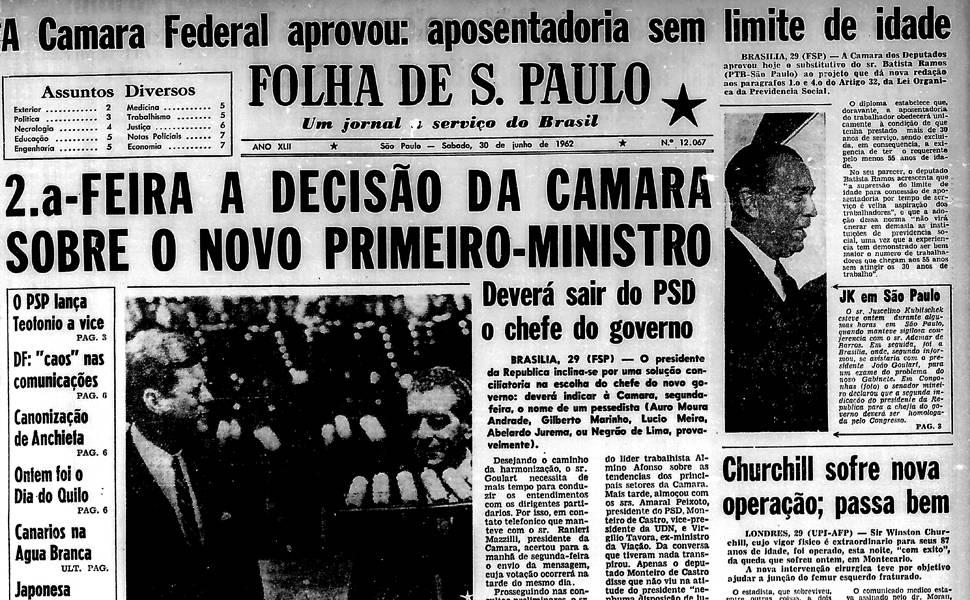 Há 50 anos - junho