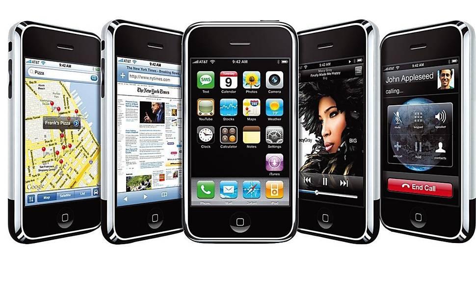 Os sete anos da trajetória do iPhone