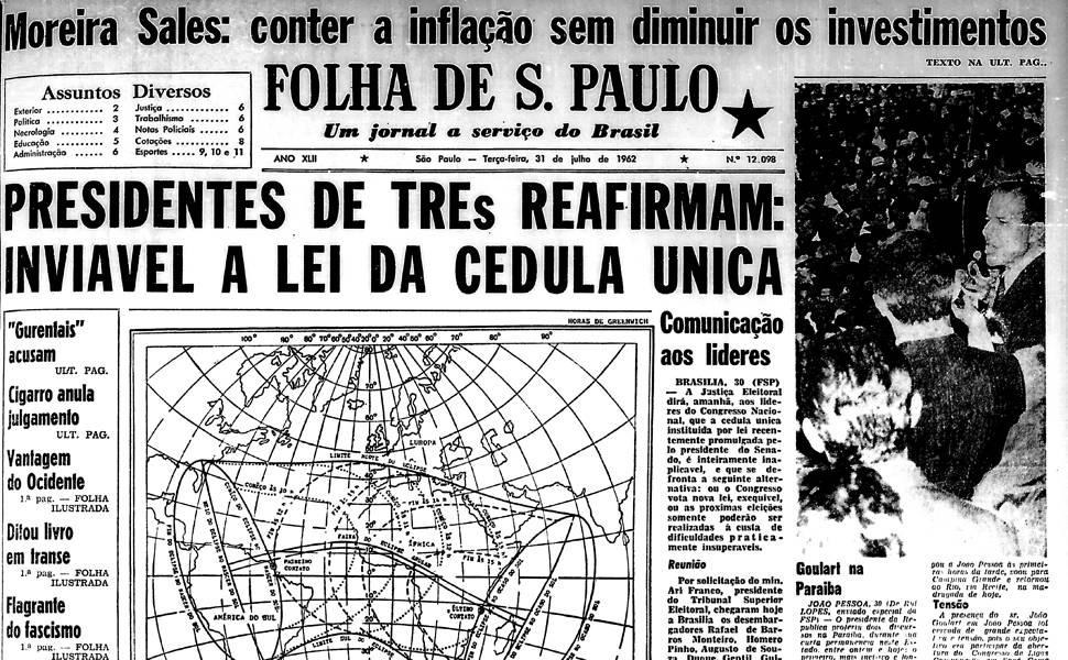 Há 50 anos - julho