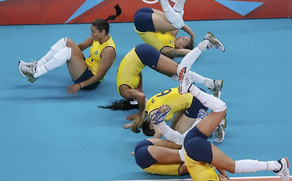 Brasil x Estados Unidos - final do vôlei feminino
