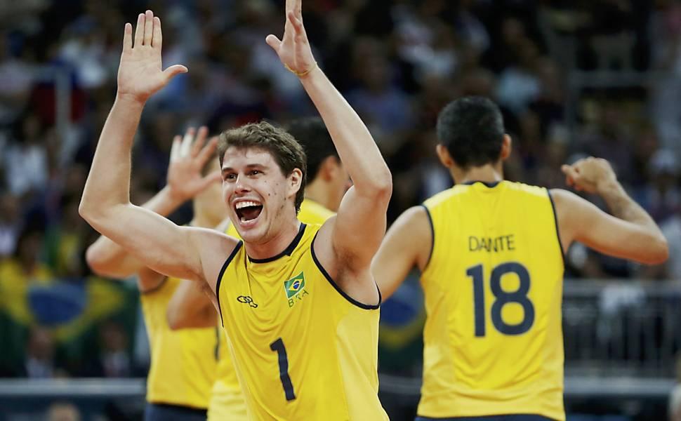 Brasil x Rússia - final olímpica