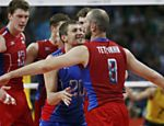 O time russo vibra com a vitória do ouro <a href=