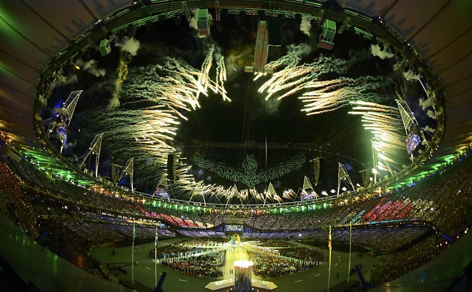 Cerimônia de encerramento - participação brasileira