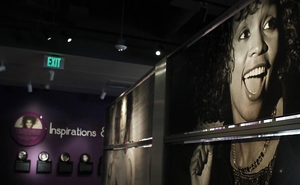 Exposição em homenagem a Whitney Houston