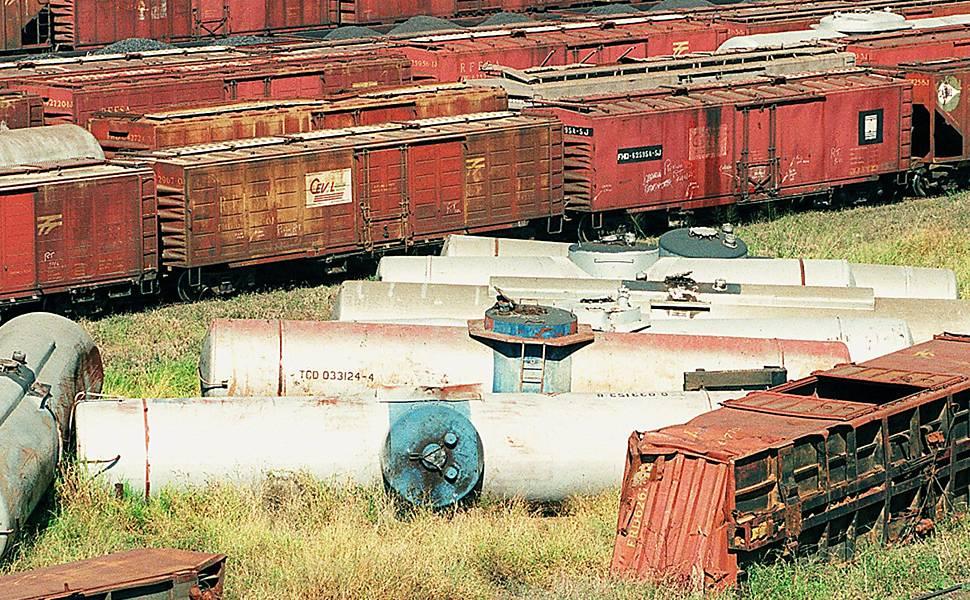 Trens abandonados