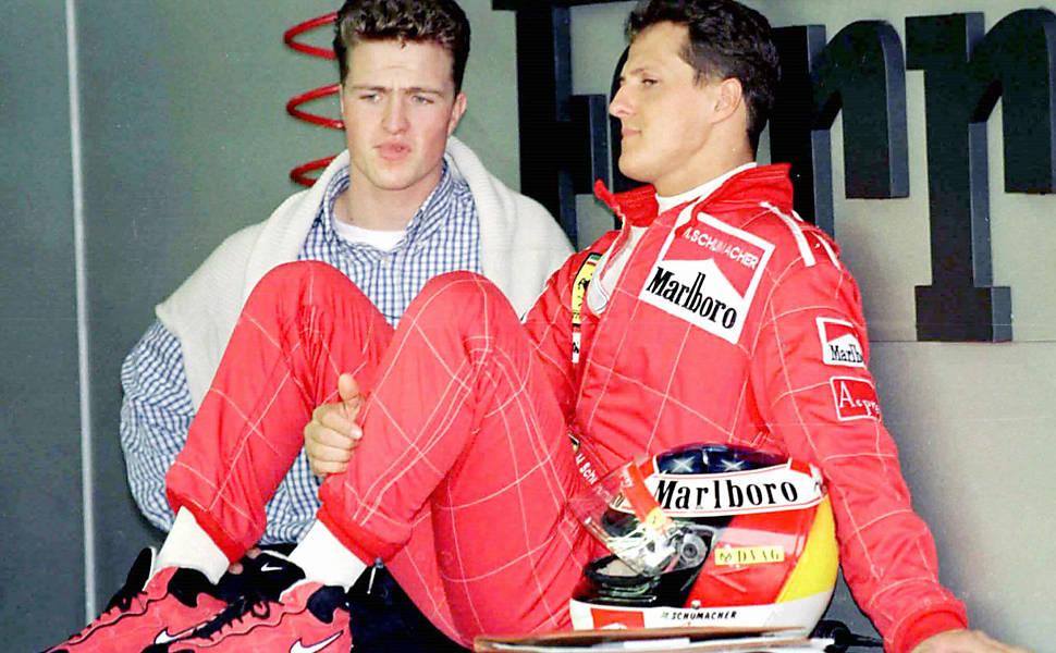 Isto é Michael Schumacher