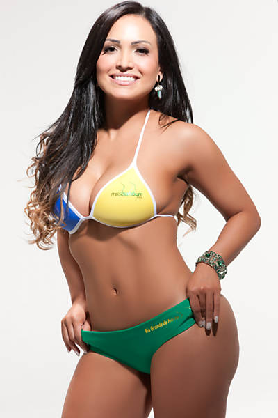 Cris Andrade, representa o Rio Grande do Norte