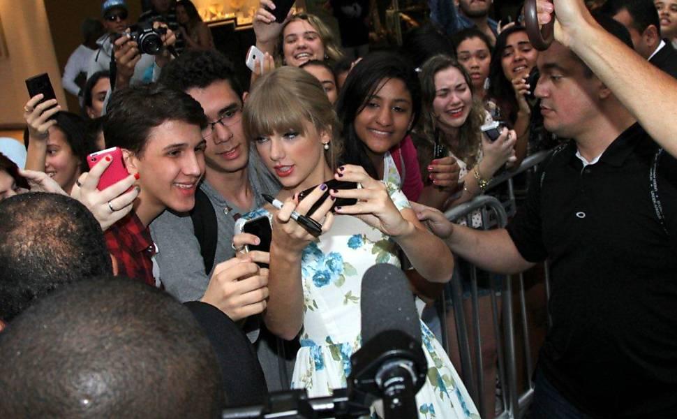 Taylor Swift no Brasil