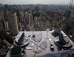 Vista do restaurante Terraço Itália, que completa 45 anos no próximo dia 29