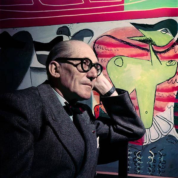 Fotografias inéditas de Le Corbusier