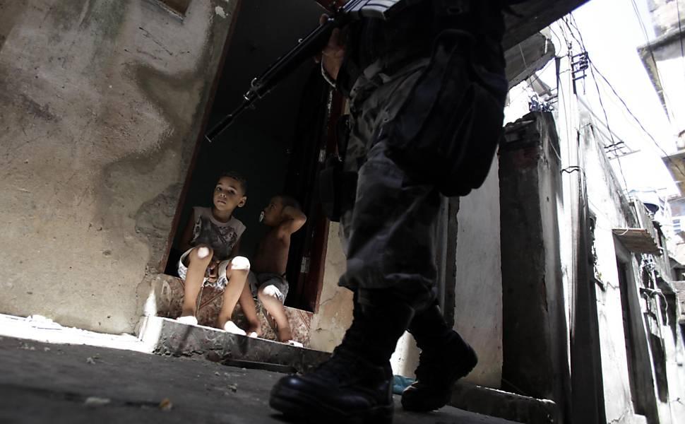 Ocupação nas favelas do Rio