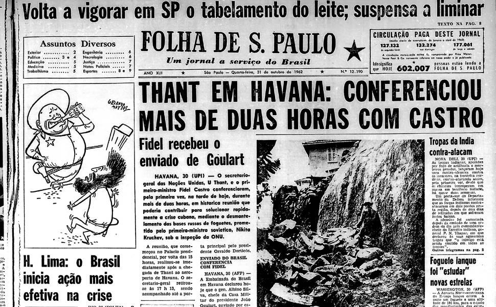 Há 50 anos - outubro
