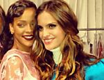 Izabel Goulart elogiou Rihanna no desfile da Victoria's Secret