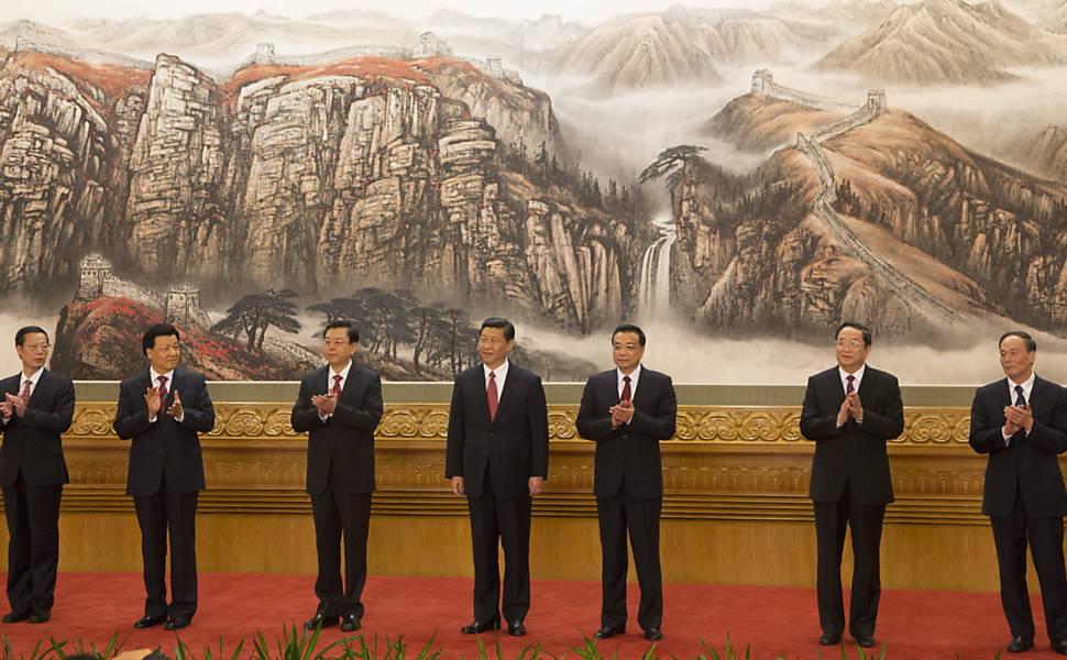 Encerramento do 18º Congresso do PC Chinês, em 2012