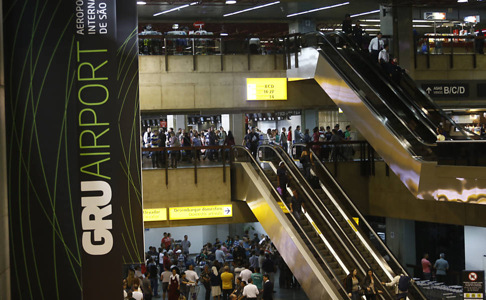 Aeroporto de Cumbica ganha 'banho de loja'