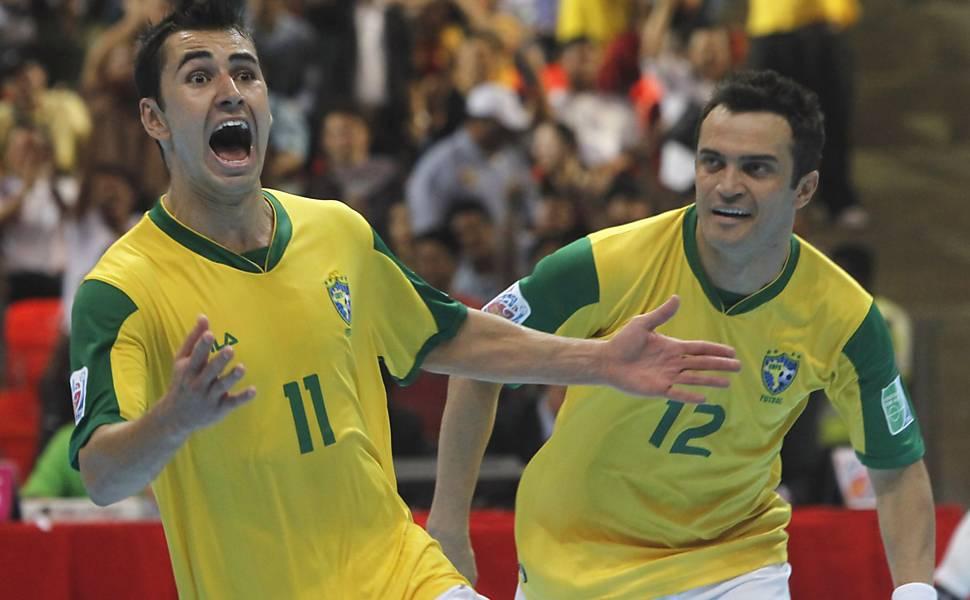 Brasil conquista Copa do Mundo de futsal