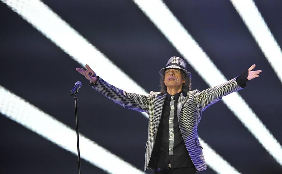 Rolling Stones em Londres em 2012
