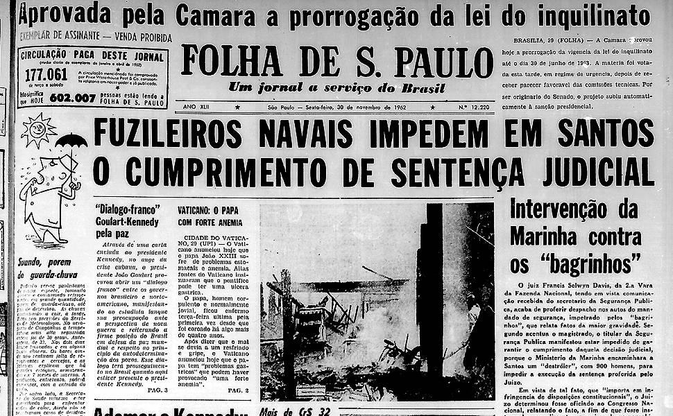 Há 50 anos - novembro