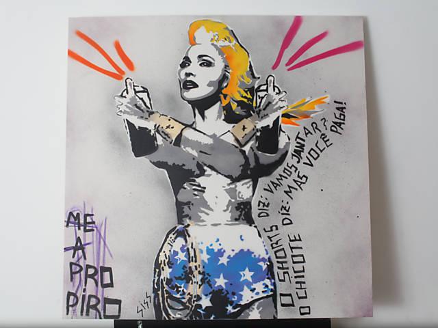 Siss ilustra capa de single de Madonna