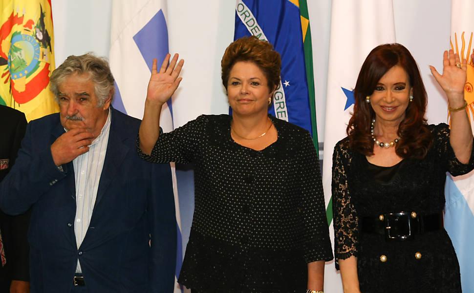 Encontro dos líderes do Mercosul