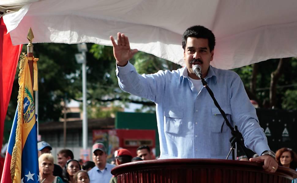 Nicolás Maduro, ao assumir o cargo