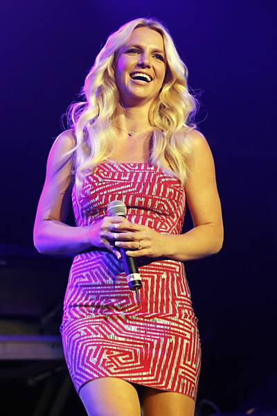 Imagens da cantora Britney Spears