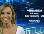 A advogada mineira Fernanda Keulla, 26, participante do