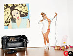 Beyoncé em ensaio para a revista