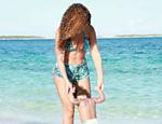 Beyoncé com a filha, Blu Ivy