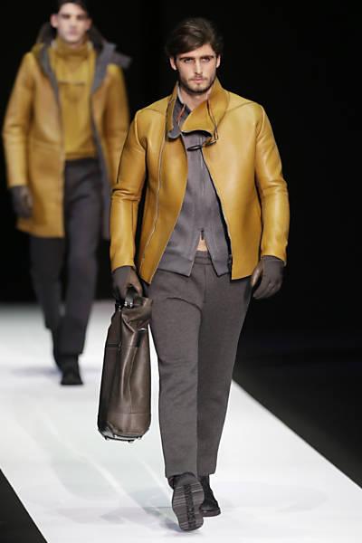 Semana de moda masculina em Milão - Empório Armani