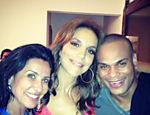 Ivete Sangalo curte festa ao lado de Scheila Carvalho e Tony Salles