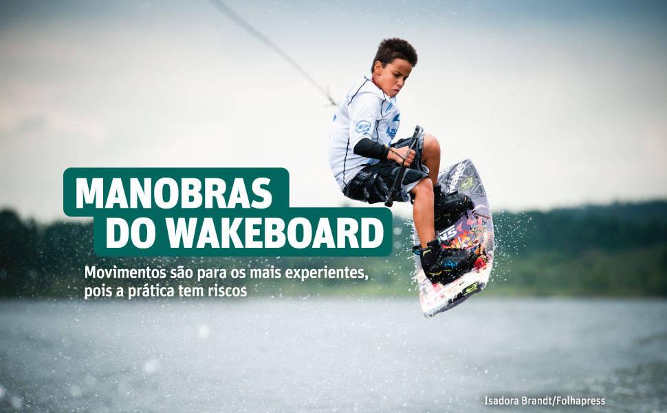 Manobras de wakeboard