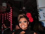 Gaby Amarantos na festa da entrega do Prêmio Multishow em 2012