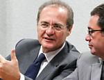 El presidente del Senado, Renan Calheiros
