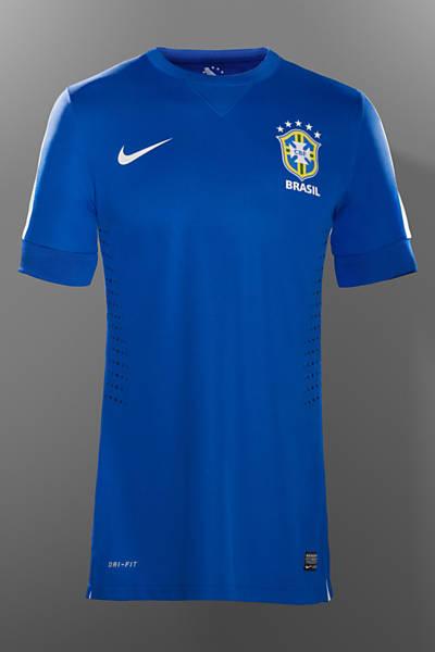 Camiza azul da seleção brasileira