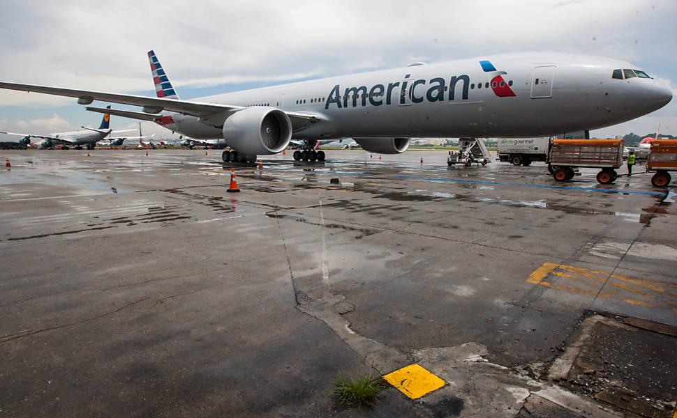 Boeing 777-300 da American Airlines