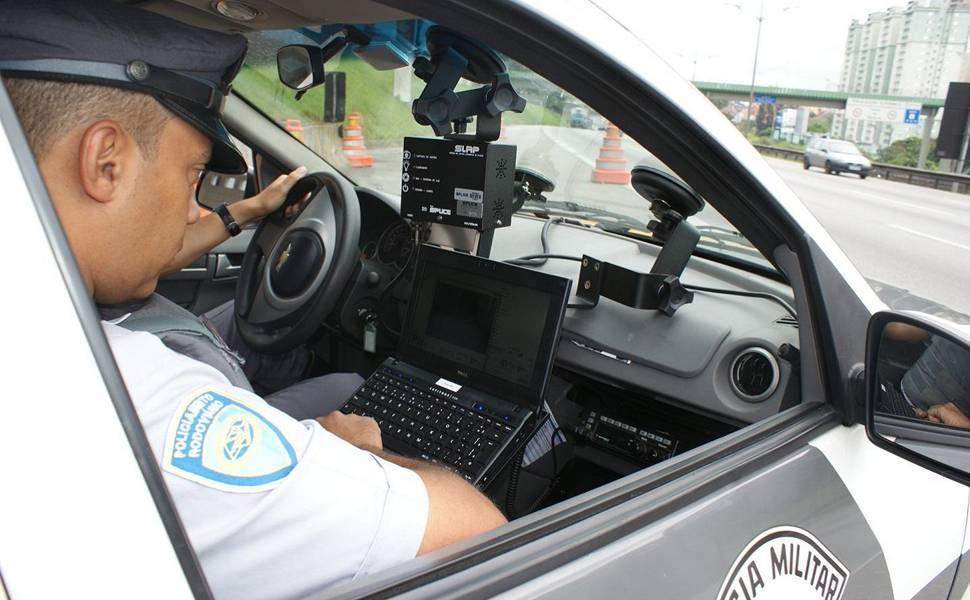 Radar nas estradas