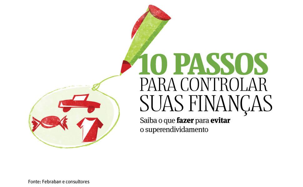 Veja 10 passos para controlar suas finanças