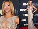Beyoncé posa para fotógrafos na pré-estreia do seu documentário