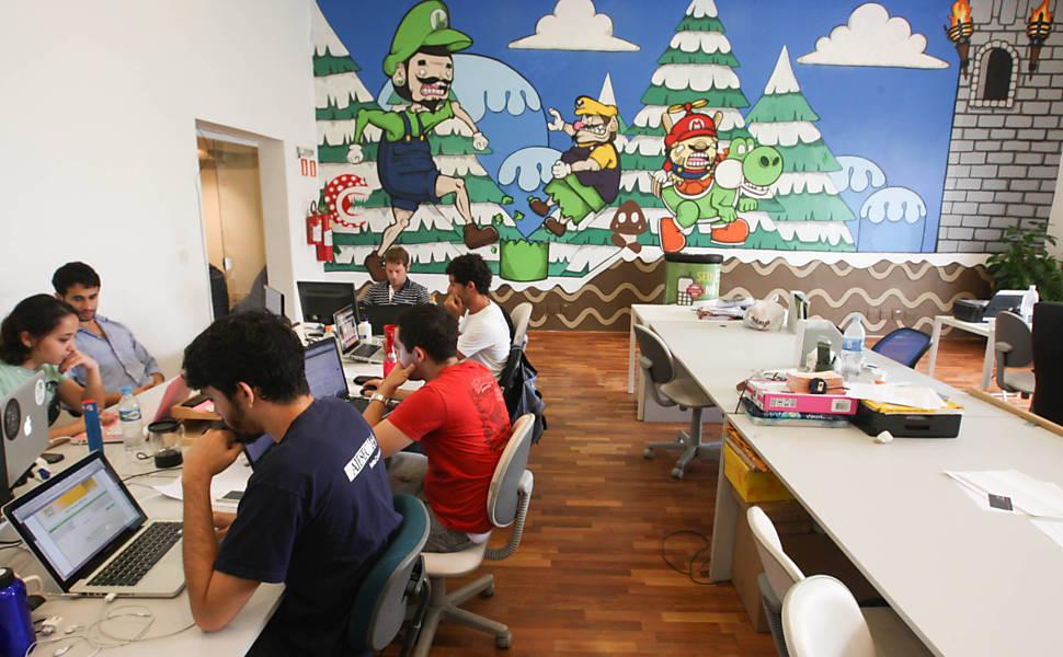 Mansão das start-ups