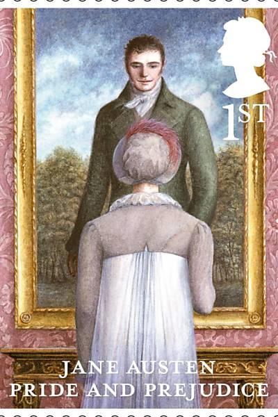 Selos comemorativos de Jane Austen