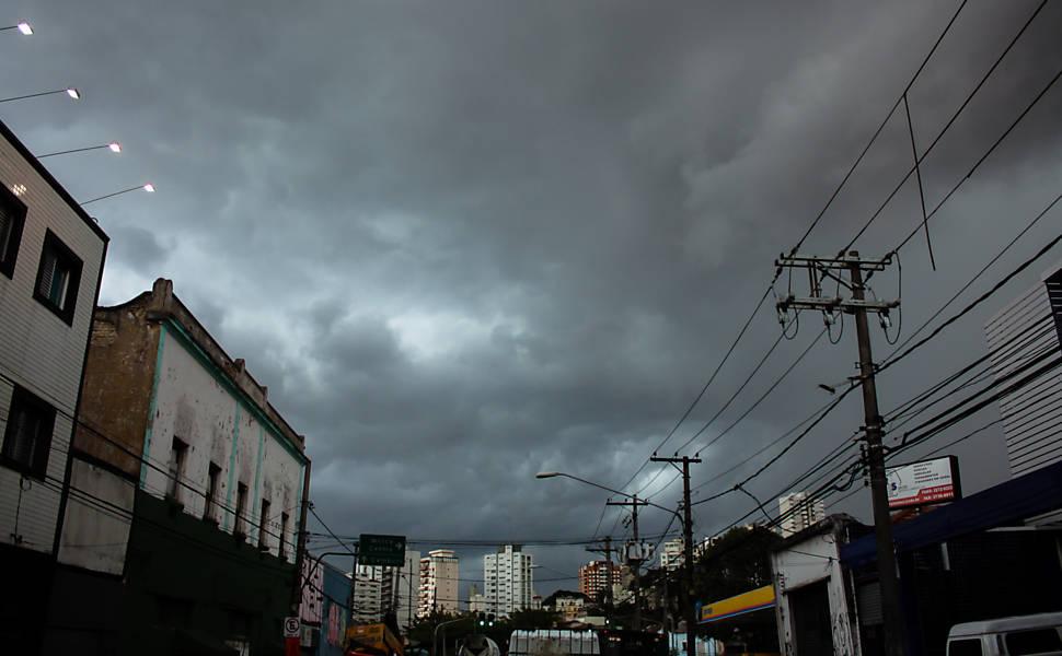 Estragos da chuva em São Paulo