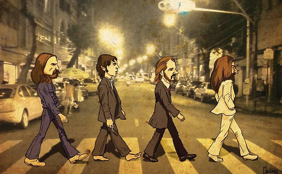 "Exposição ""On the Abbey Road"""